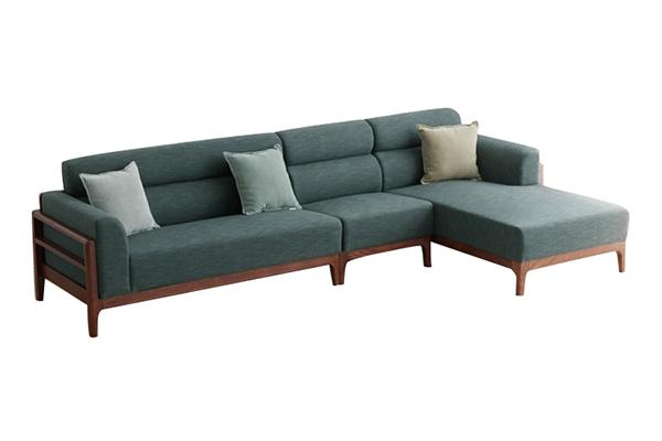 Sofa vải nỉ nhập khẩu S293