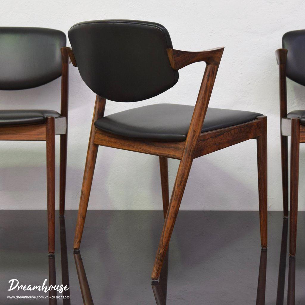 Ghế Kai gỗ Tần bì GN6351 có Tông màu trầm tạo nên sự sang trọng và thanh lịch