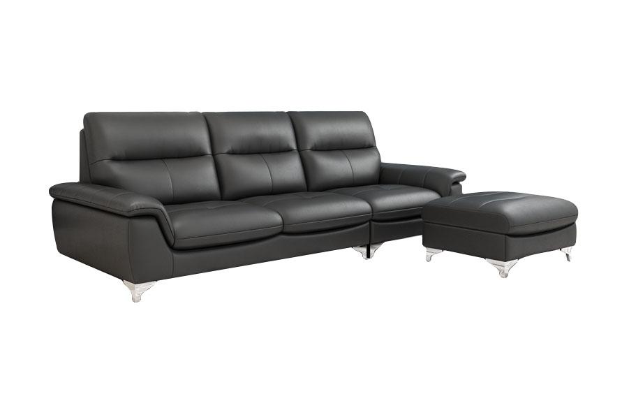 Sofa da bò nhập khẩu Brazil SF6283