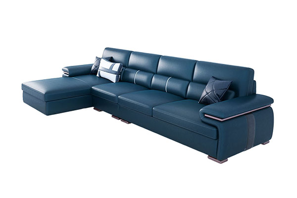 Sofa da Brazil sang trọng S265