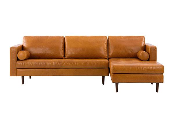 Sofa da sáp cao cấp S285