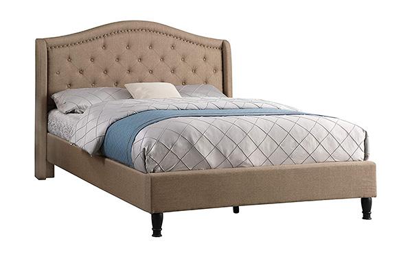 Giường ngủ bọc nỉ hiện đại B218