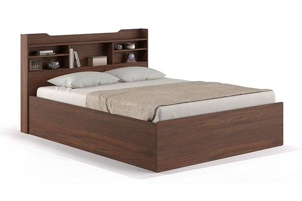 Giường ngủ kết hợp trang trí đầu giường B709