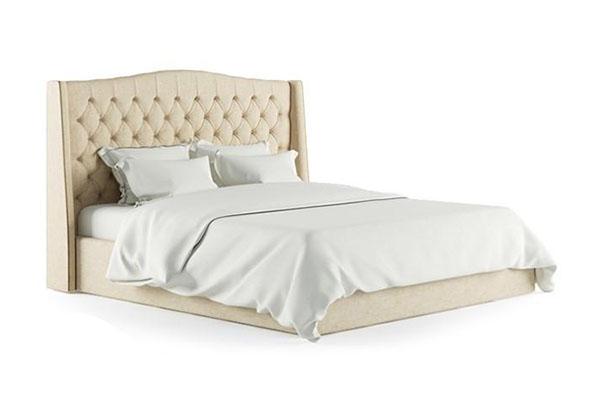 Giường ngủ bọc nỉ Indo đẹp B757