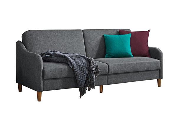 Sofa văng vải nỉ Hàn Quốc nhỏ gọn S808