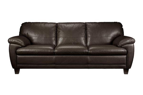Sofa văng da bò Brazil sang trọng S891