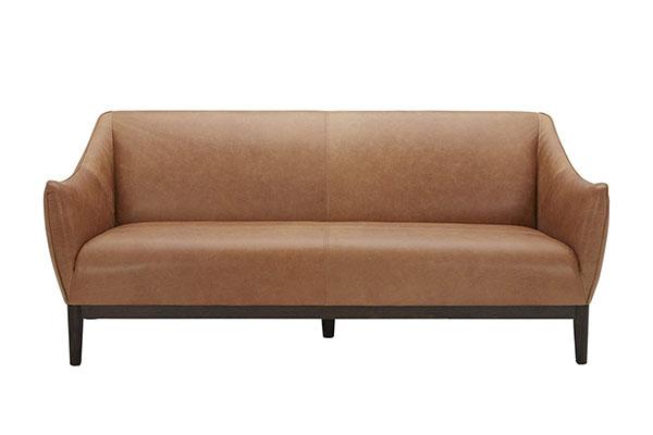 Sofa văng giả da sang trọng hiện đại S176