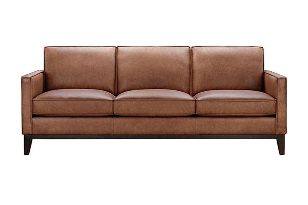 Sofa văng da bò Ý cao cấp S869