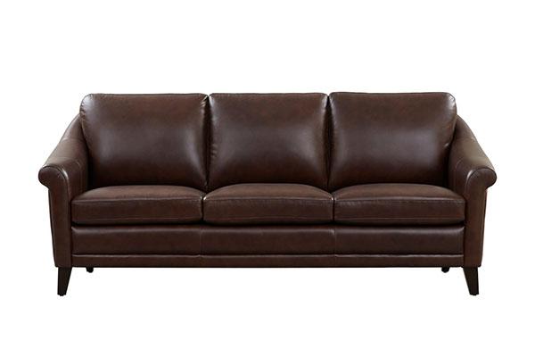 Sofa văng da cao cấp kiểu dáng hiện đại S175