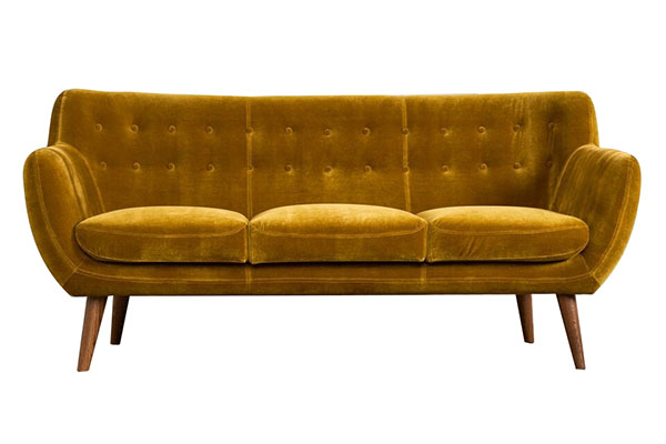 Sofa văng nệm nhung mềm mại S871