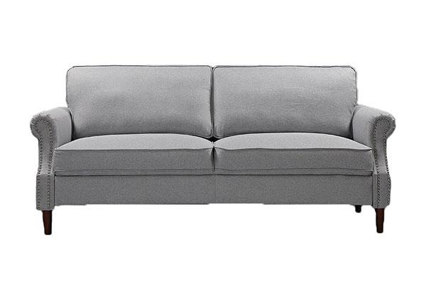 Sofa văng vải nỉ Hàn Quốc sang trọng S796