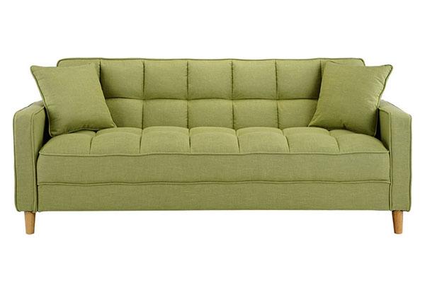 Sofa văng vải nỉ nệm rút chỉ S887