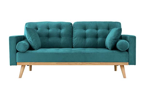 Sofa văng vải nỉ nhỏ gọn S889
