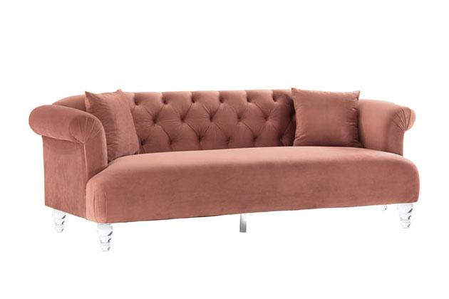 Sofa văng vải nỉ rút chỉ Hàn Quốc S839