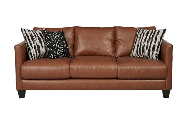 Sofa văng da cho phòng khách nhỏ S020