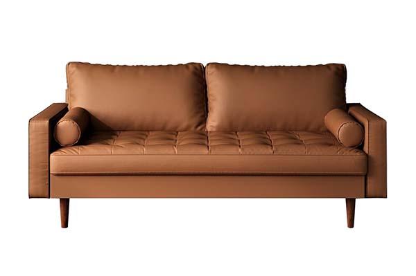 Sofa văng da Microfiber hiện đại S970