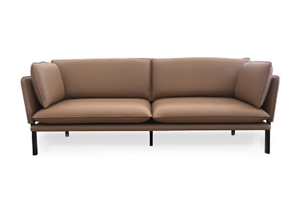Sofa văng da Microfiber sang trọng S011