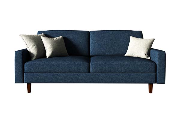 Sofa văng vải nỉ 2 chỗ ngồi nhỏ gọn S968
