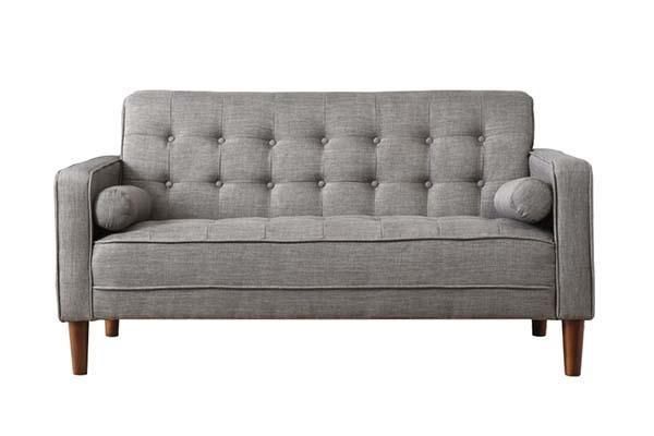 Sofa văng vải nỉ cho phòng khách nhỏ S966