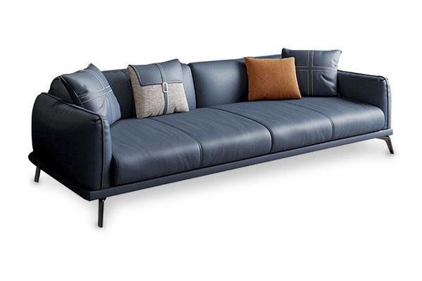 Sofa da Microfiber kiểu Ý sang trọng S750