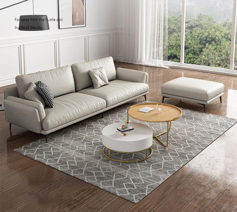 Đôn sofa đi cùng hoàn toàn phù hợp