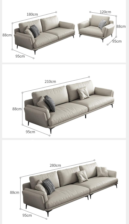 Kích thước sofa đặt theo yêu cầu