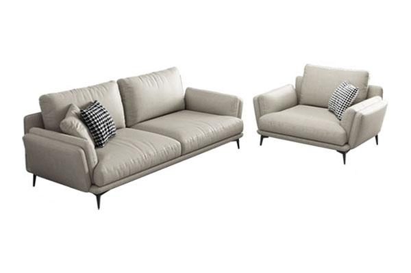 Sofa văng da kiểu Ý tuyệt đẹp S697