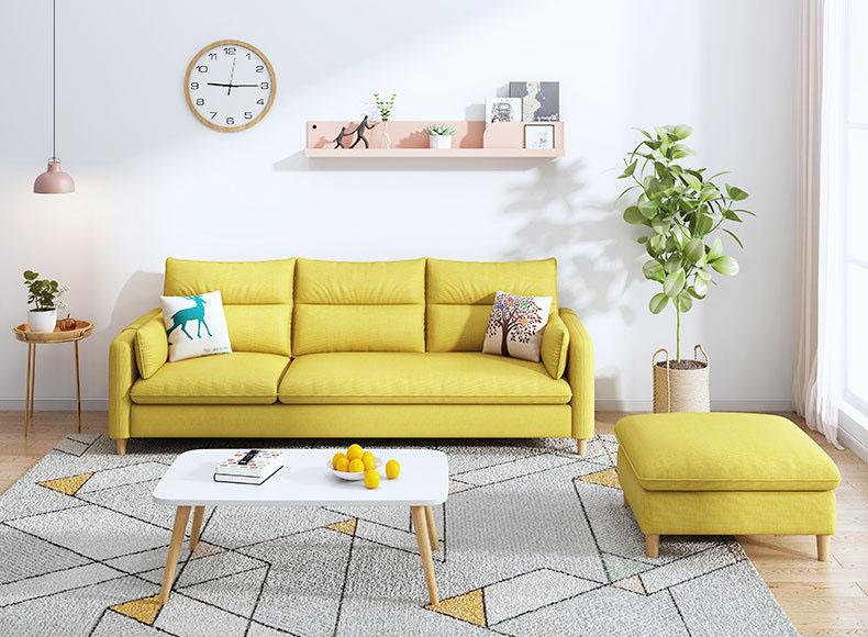 Sofa văng vải nỉ cao cấp