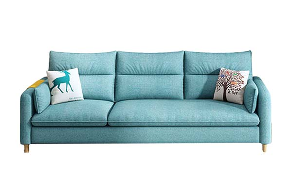 Sofa vải nỉ đẹp cho phòng khách nhỏ S596