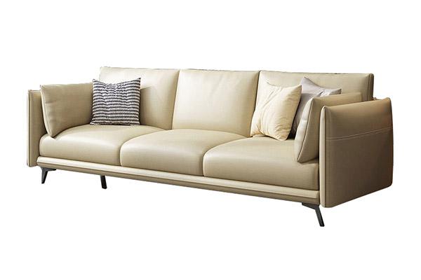 Sofa văng da kiểu Ý tuyệt đẹp S678